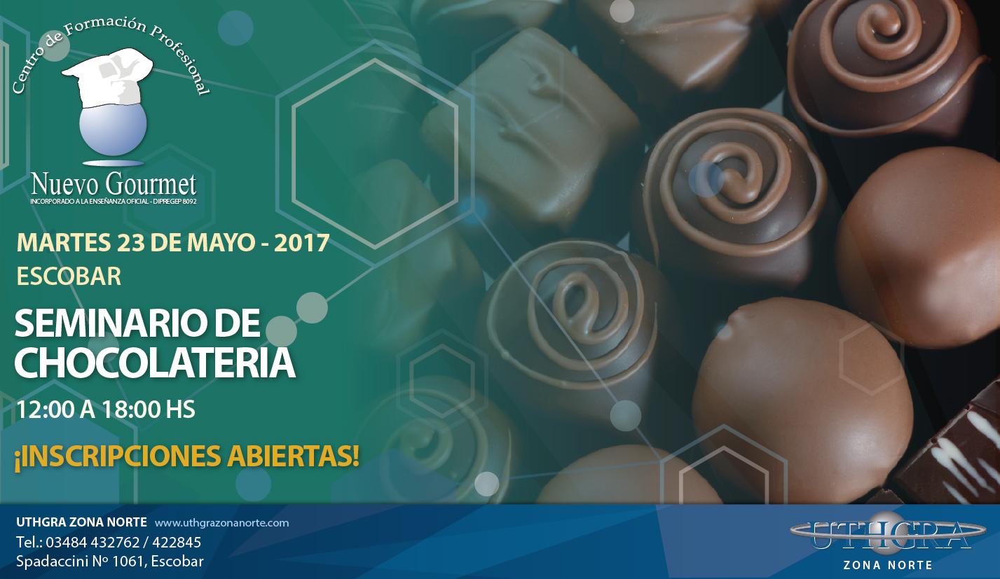 Seminario de Chocolateria – 23 de Mayo