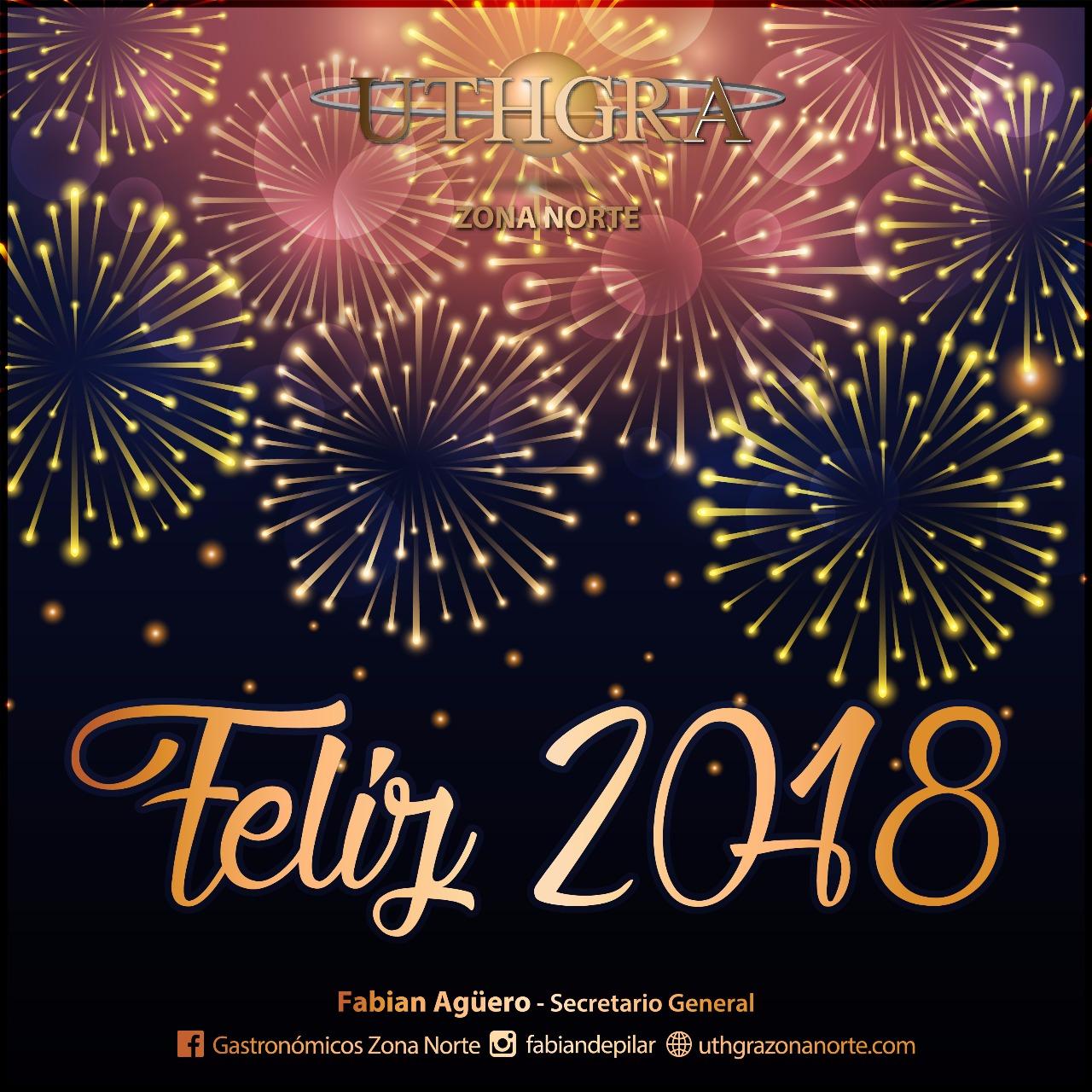 FELIZ 2018 COMPAñEROS!