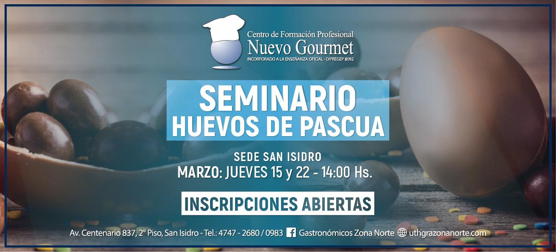 SEMINARIO HUEVOS DE PASCUA