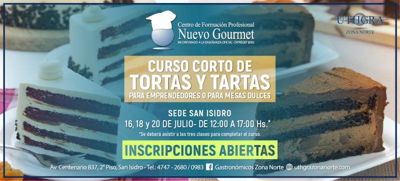 CURSO TORTAS Y TARTAS