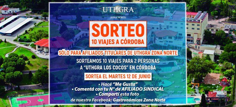 SORTEO DE VIAJES A CORDOBA!