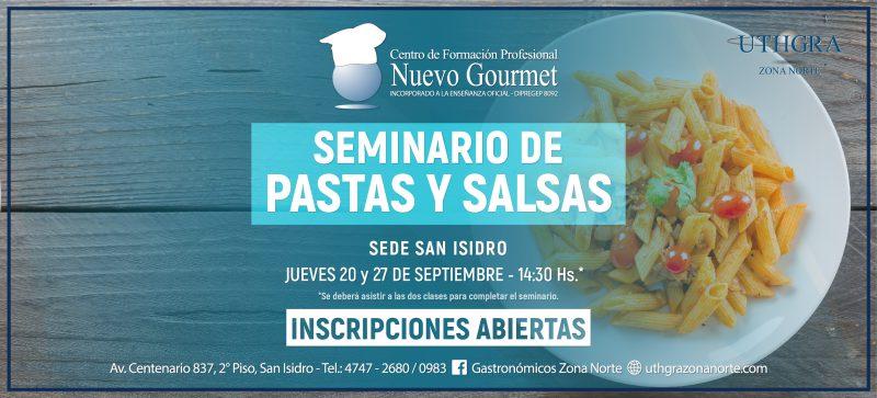 SEMINARIO DE PASTAS Y SALSAS