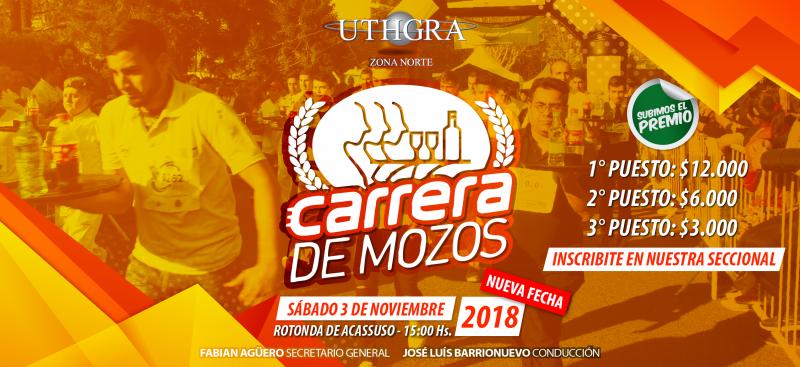 CARRERA DE MOZOS