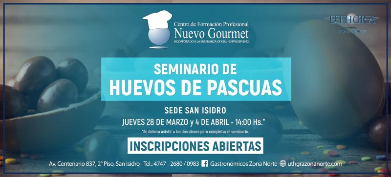 SEMINARIO HUEVOS DE PASCUAS