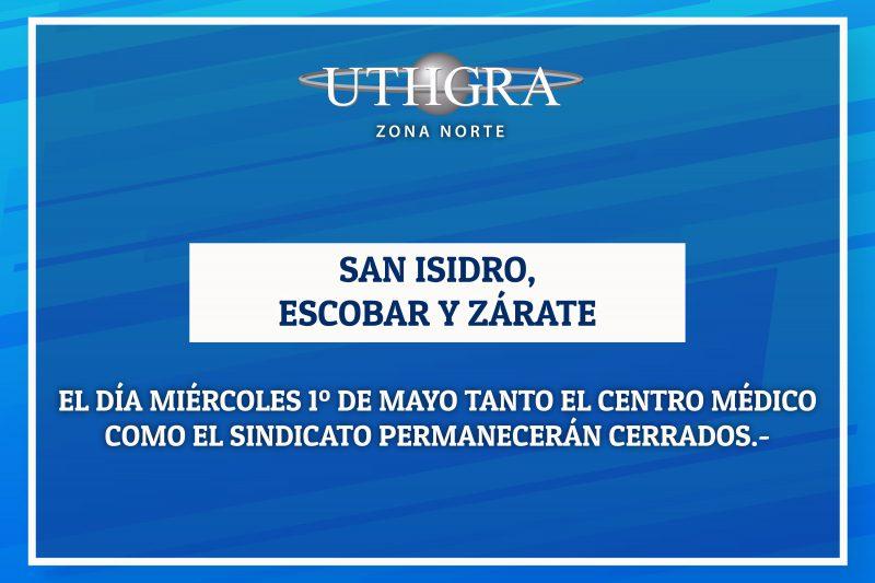 FERIADO 1 DE MAYO